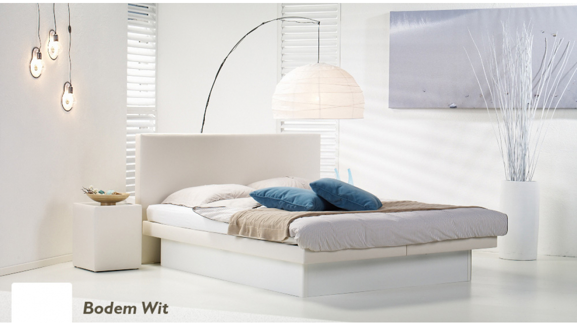 waterbed luxe pro bodem wit