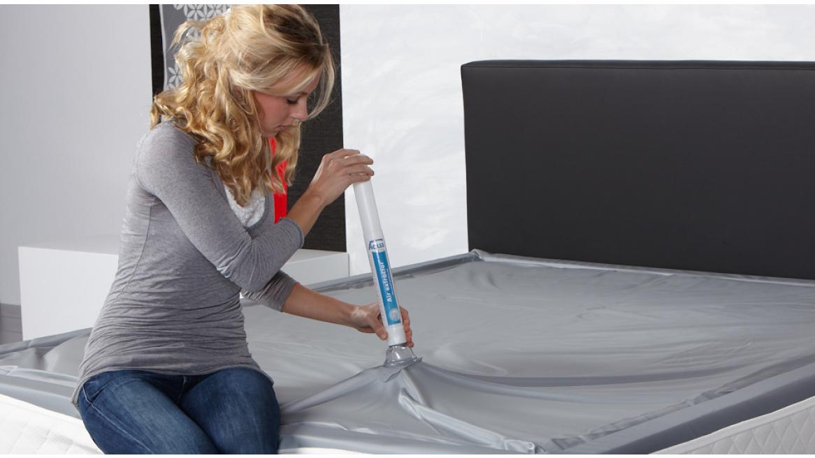 waterbed ontluchtingspomp watermatras zonder luchtbellen
