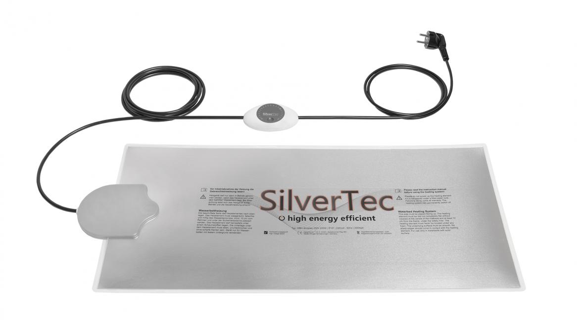waterbedverwarming Carbon SilverTec Analoog