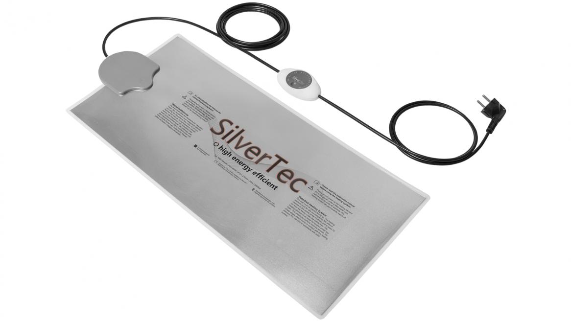 Carbon SilverTec waterbed verwarming met analoge thermostaat