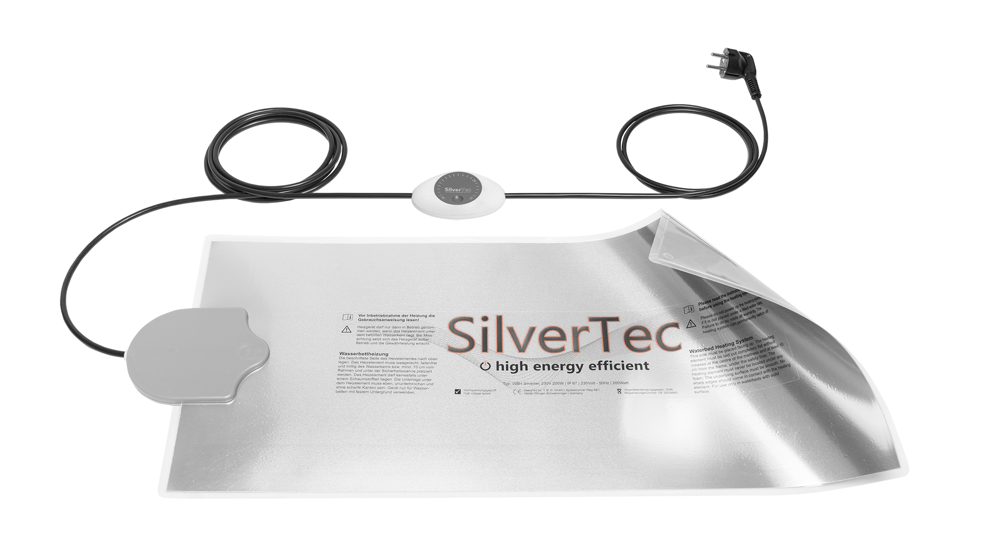 silvertec waterbed verwarming