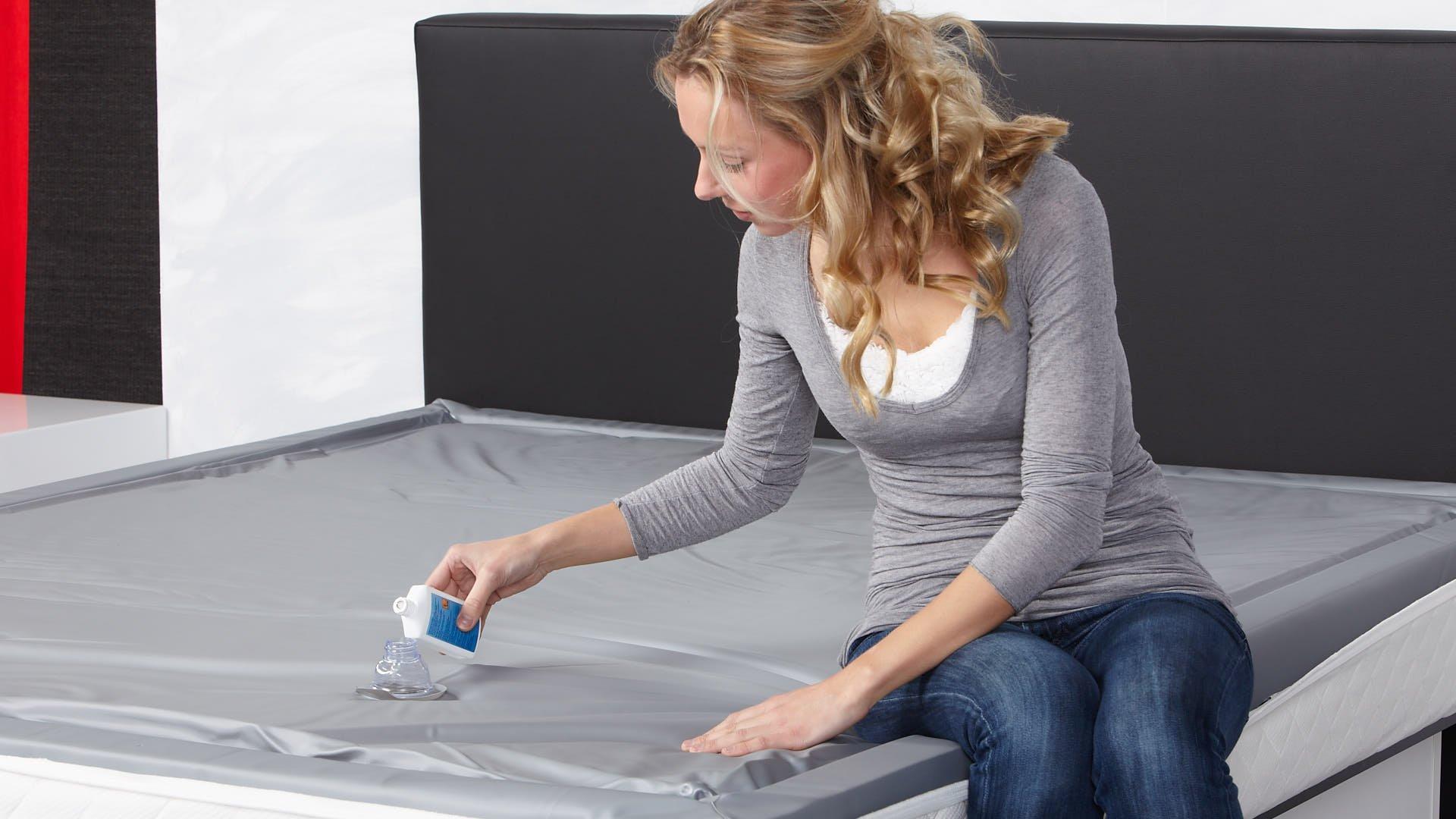 waterbed conditioner toevoegen aan watermatras