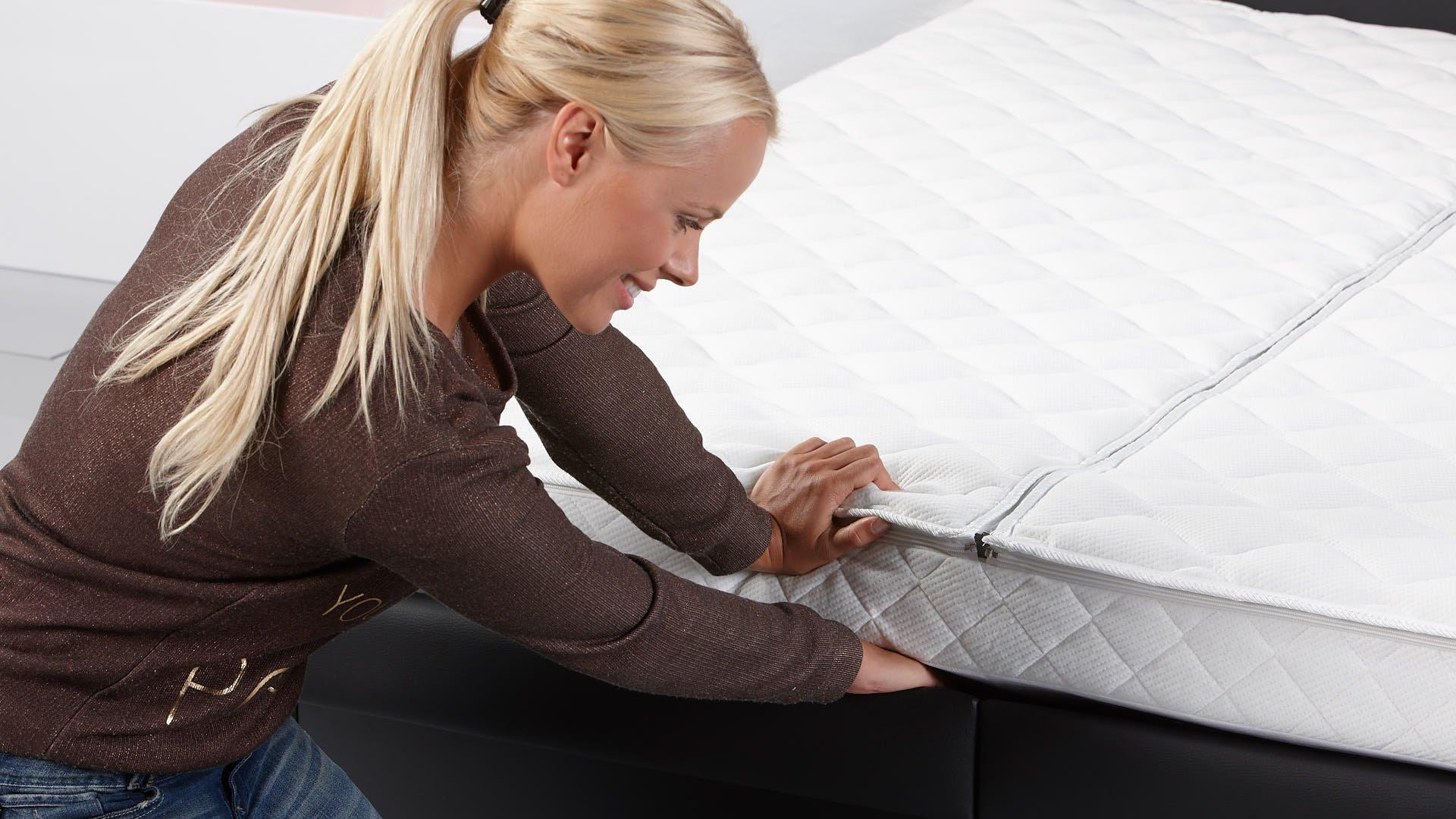 waterbed model luxe split eenvoudig bed opmaken