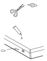 watermatras repareren