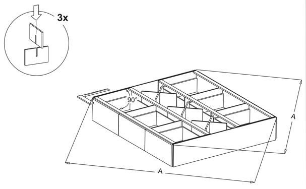 waterbed ladenblokken plaatsen