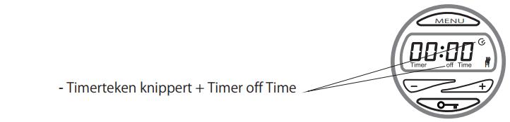 timer off time